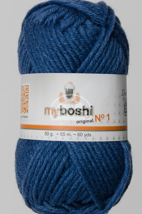 "Laine MyBoshi coloris 157 ""Denim"""