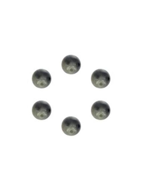 Lot de 6 boutons à queue en bio résine