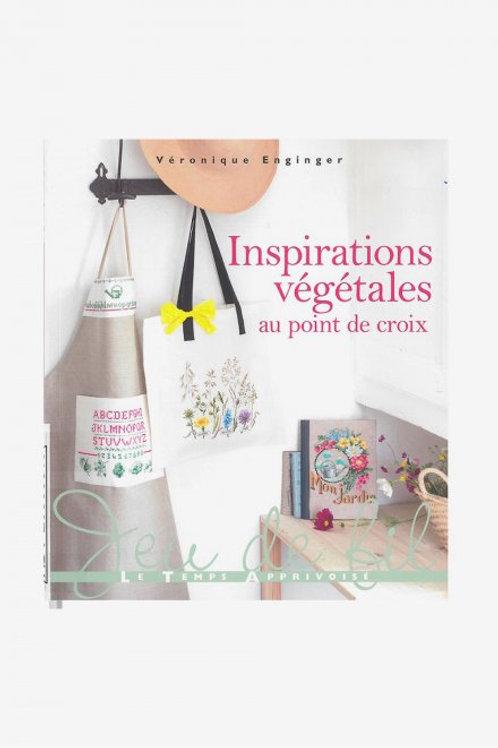 """""""Inspirations végétales au Point de croix"""" ed. LTA"""