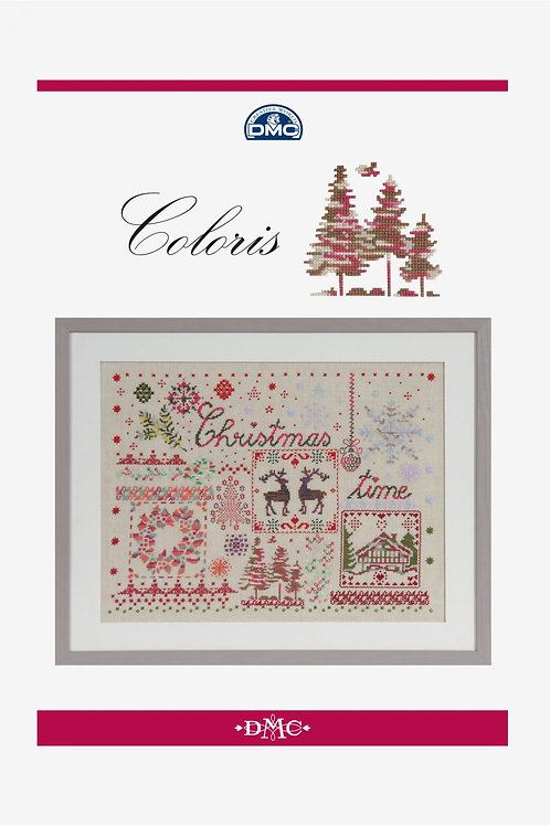 Livret Christmas Time en fils Coloris