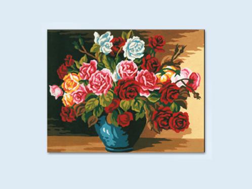 """Kit de tapisserie """"Bouquet de Roses"""""""
