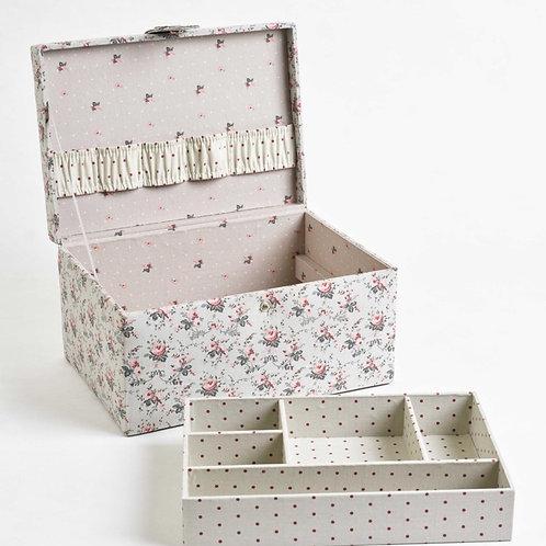 Boîte de rangement Little Roses Dmc - petit format