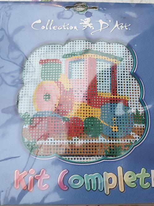 """Kit de broderie """"Petit Train"""""""