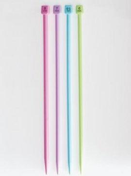 Aiguilles colorées plastique Bergère de France