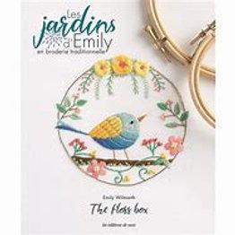 """""""Les Jardins d'Emily en broderie traditionnelle"""" ed. de Saxe"""