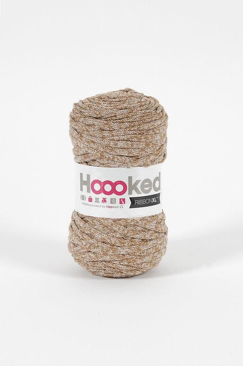 Pelote Hoooked Ribbon XL - brun
