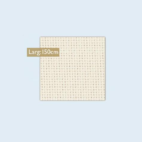 Toile Aïda 7.2 - Blanc ou beige