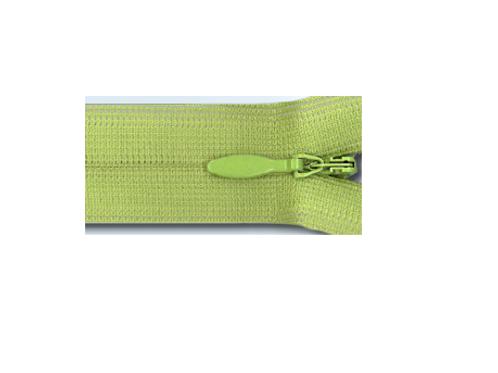 Fermeture à glissière Invisible Nylon - non détachable - 5 dimensions