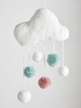 Kit Pompons mèche nuage