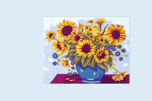 """Kit de tapisserie """"Bouquet de Tournesols"""""""