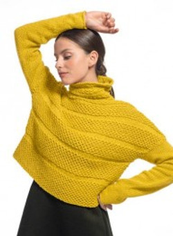 pull col montant dame