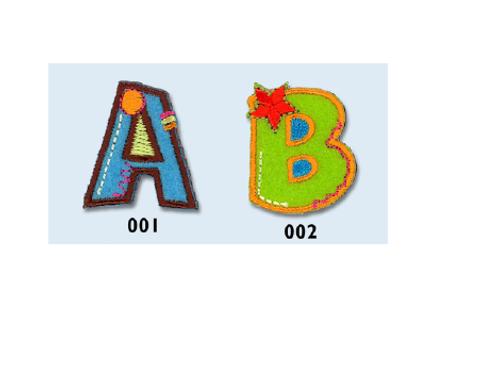 Stickers Alphabet coloré