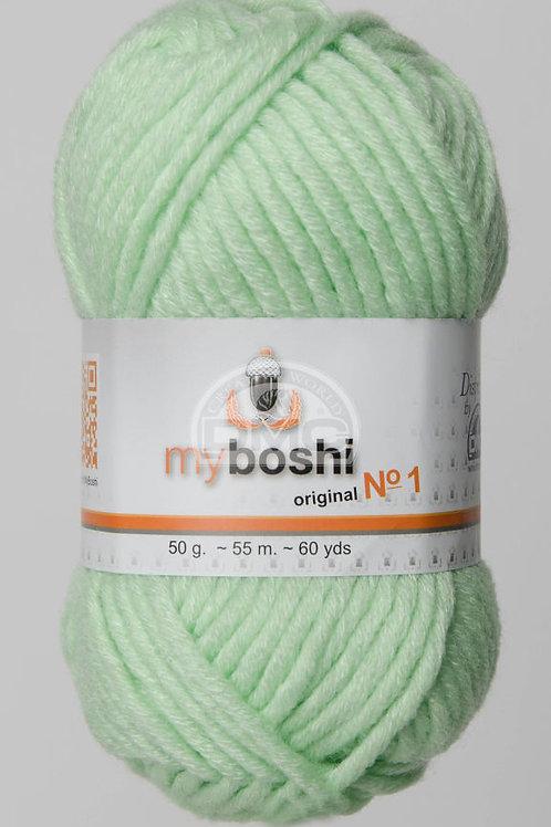 "Laine MyBoshi coloris 127 ""Mint"""