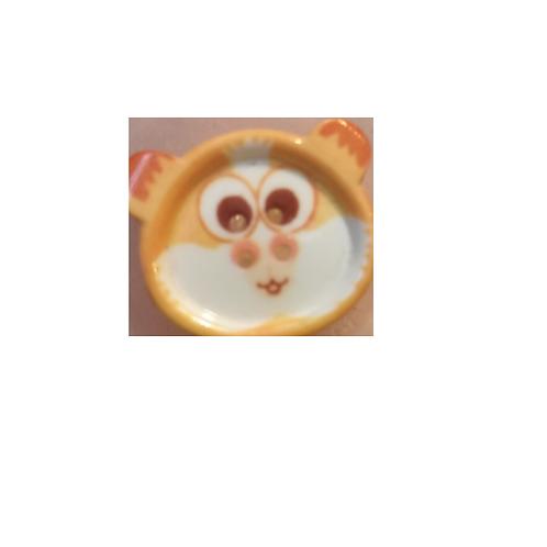"""Bouton enfant """"tête de hamster"""""""