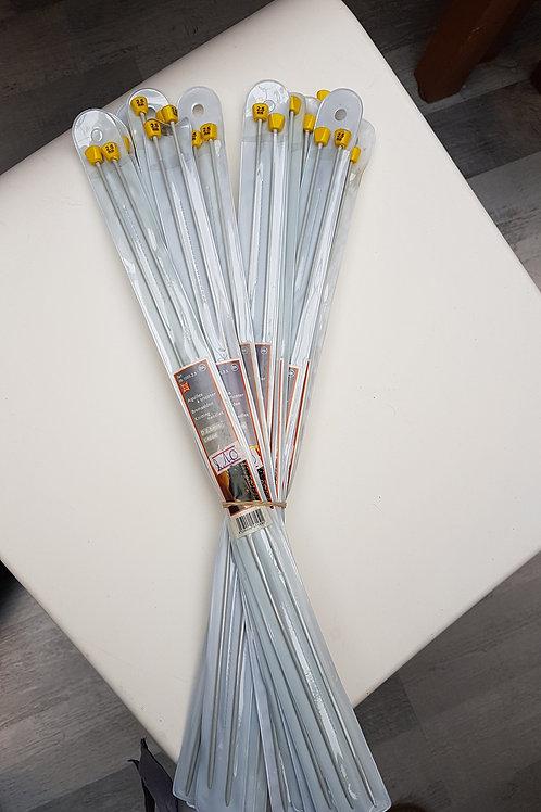 Aiguilles à tricoter droites - 40 cm