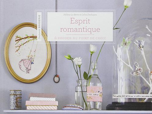 """""""Esprit romantique à broder au point de croix"""" ed. Mango"""