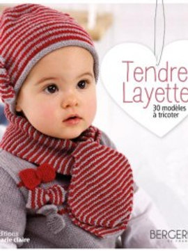 """""""Tendre layette"""" Ed. Marie-Claire"""