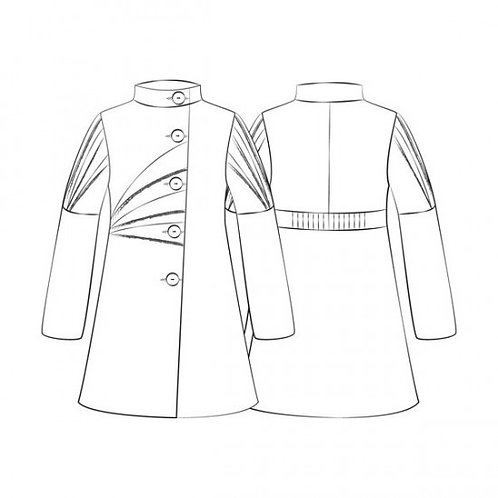 Raccourcir une manche de manteau + doublure