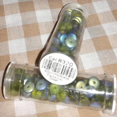 Perles disques lavables - coloris 8320