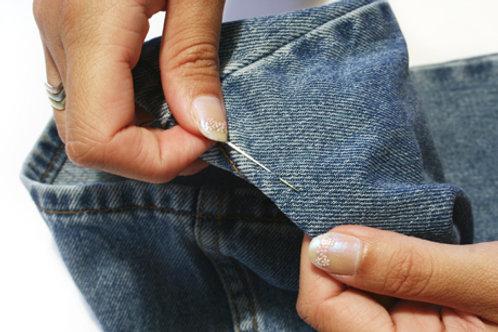 Bord de pantalon