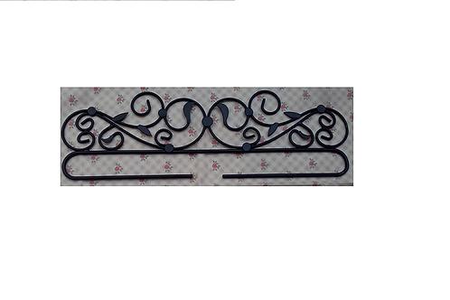 Ceintre de suspension en métal pour broderie - noir ou blanc