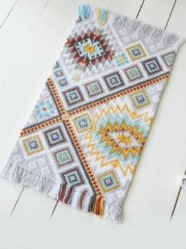 """Kit tapis """"Indien"""" à broder Bergère de France"""