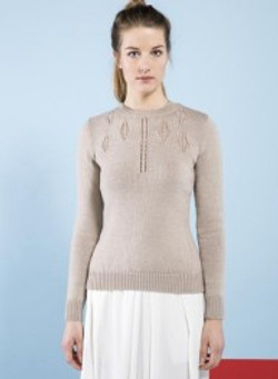 pull col rond dame