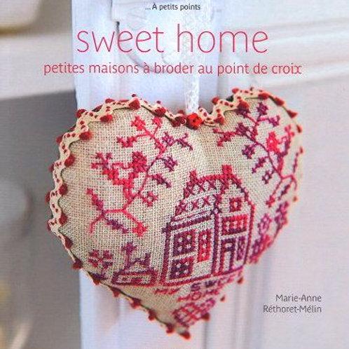 """""""Sweet Home, petites maisons à broder au point de croix"""" ed. Mango"""