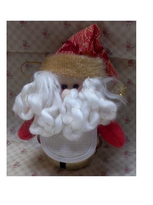 Grelot Père-Noël à broder