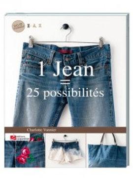 """""""1 jean = 25 possibilités"""" Editions Carpentier"""