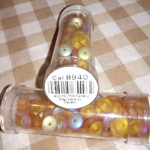 Perles disques lavables - coloris 8940