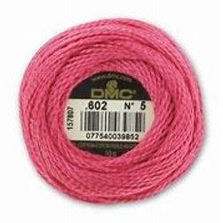 Coton perlé n°5 DMC - coloris 602