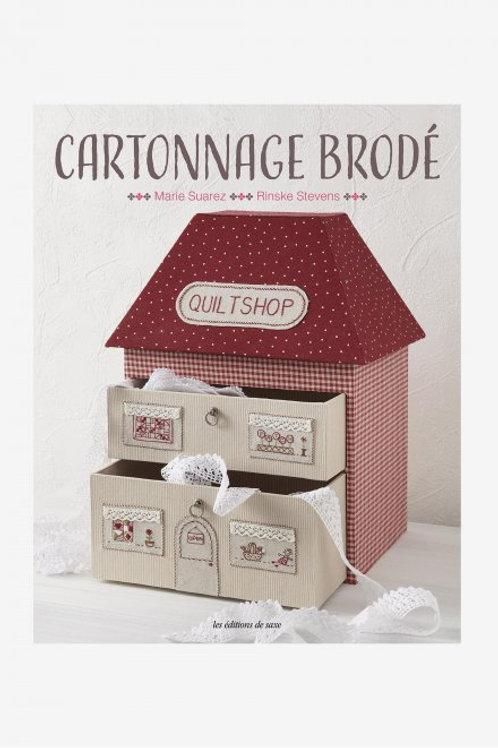 """""""Cartonnage brodé"""" ed. de Saxe"""