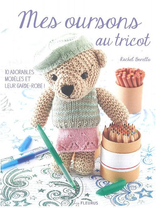 """Mes Oursons au Tricot"" ed. Fleurus"