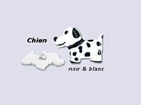 """Bouton enfant """"Chien"""""""