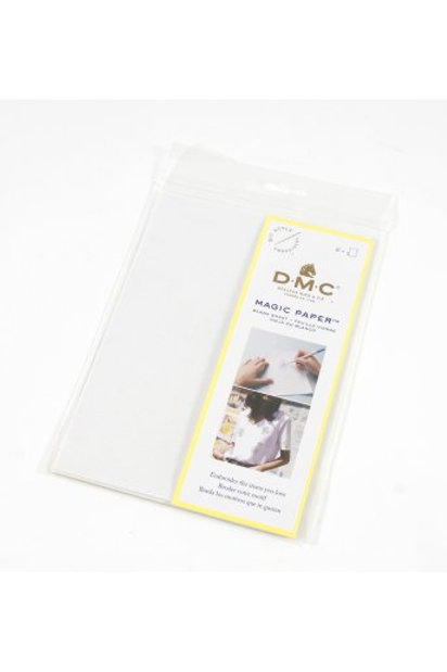 Magic Paper (feuille soluble) DMC - 2 feuilles vierges
