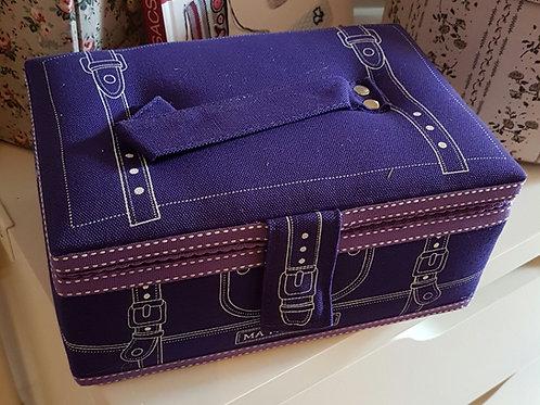 Jolie valisette de rangement couture sous forme de valise