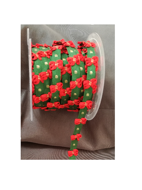 Ruban de Noël à petits noeuds