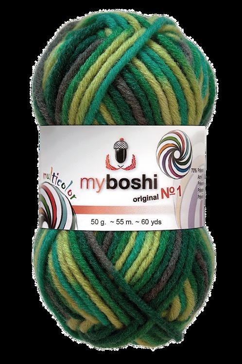 """Laine MyBoshi multicolore """"Grasshopper"""""""