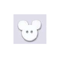 """Bouton enfant """"Tête de souris"""""""