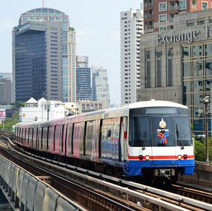 Red Line & Green line Metro, Bangkok, THAILAND.