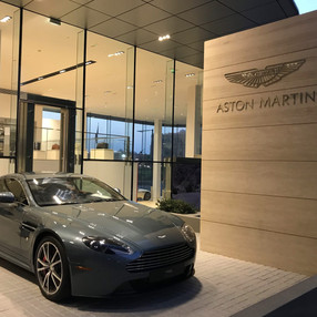 Aston Martin Showroom in Abu Dhabi