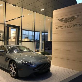 Aston Martin Showroom in Abu Dhabi