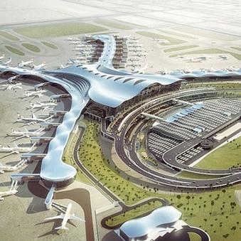 Mid Field Airport Terminal Abu Dhabi