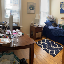 Guest Bedroom/Home Office Before