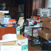 Attic Office Before
