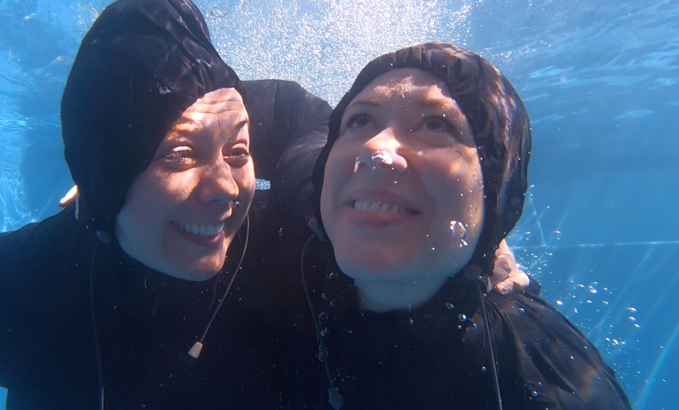 The Kagools underwater filming