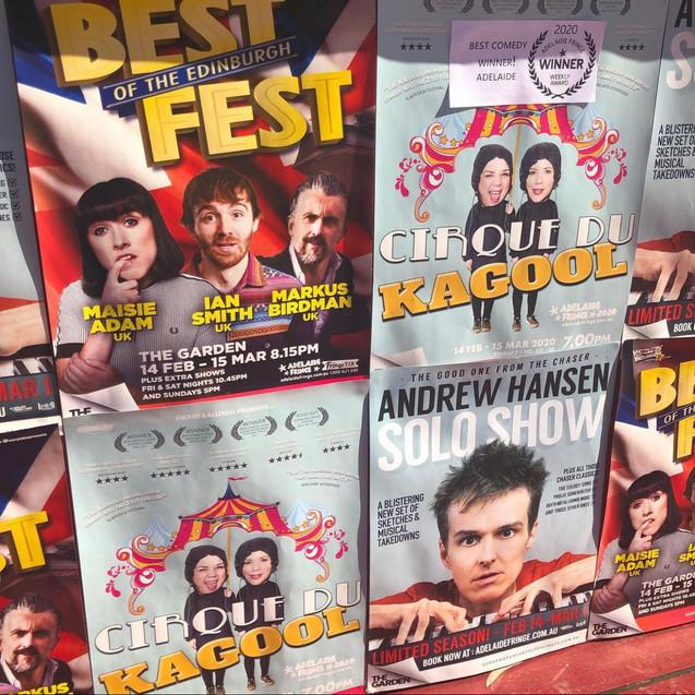 The Kagools Posters