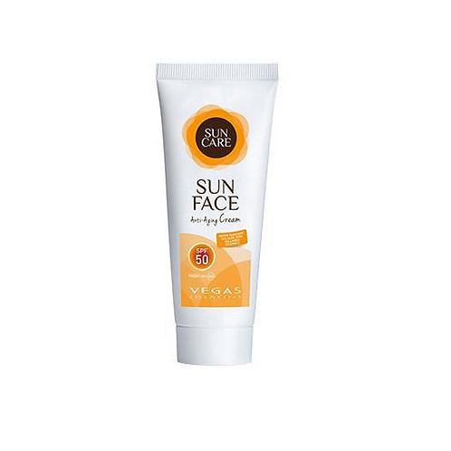 Creme Solar Facial Aloe Vera   SPF 50 75ml