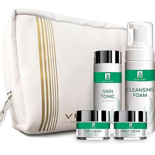 Conjunto de Tratamento Aloe Vera 4 produtos